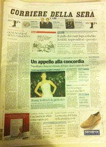 Corriere della sera - Servizio Italiano di Psicologia Online