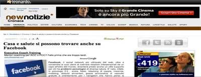 Leonardo.it - Casa e salute su Facebook