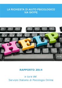 Rapporto 2014 - La richiesta di aiuto psicologico via Skype