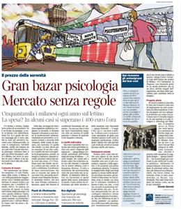 CORRIERE DELLA SERA - Gran Bazar Psicologia Mercato senza regole (11/07/2013)