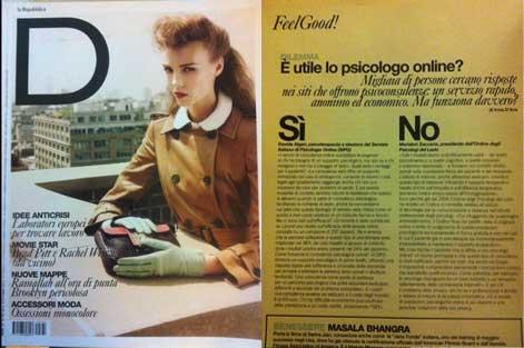 D DI REPUBBLICA - E' utile lo psicologo online? (08/10/11)